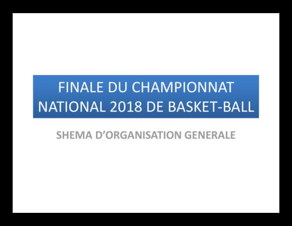PLAN D'ORGANISATION FINALE 2018