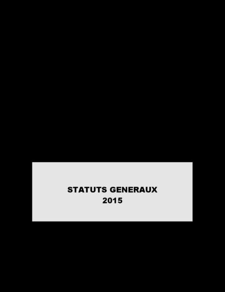 Statut 2015