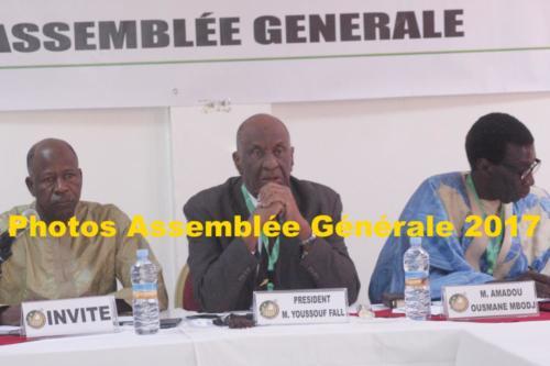 Photos Assemblée Générale 2017