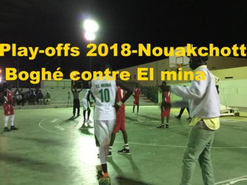 Play-offs 2018 - Nouakchott - Boghé Contre El Mina