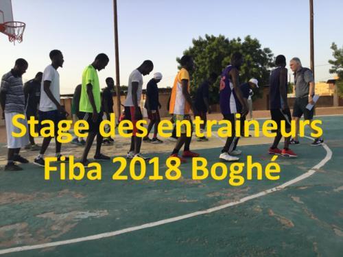 Stage des entraineurs Fiba 2018 Boghé