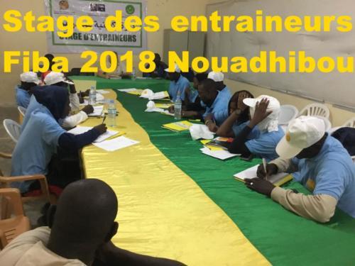 Stage entraineurs Fiba 2018 Nouadhibou