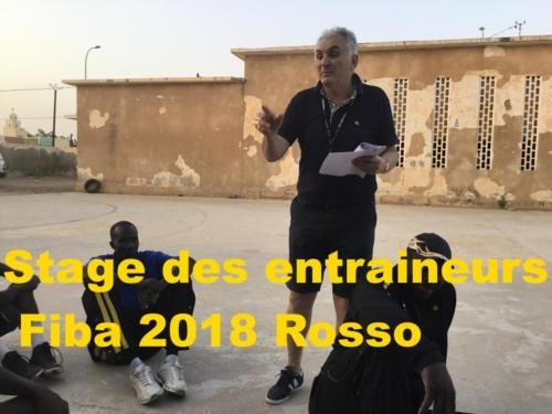 Stage des entraineurs Fiba 2018 Rosso